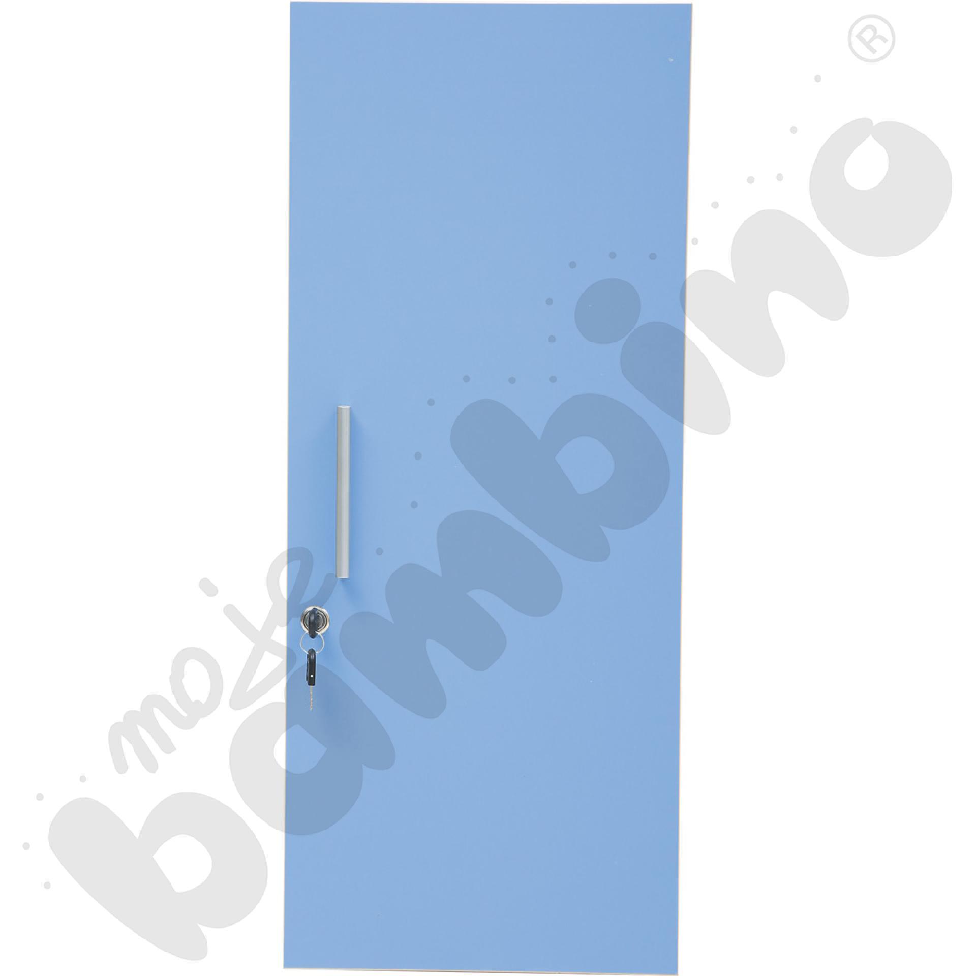 Drzwiczki M do szatni 100138 i 100139 - niebieskie