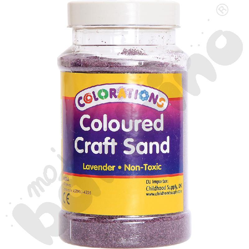 Tęczowy piasek - lawendowyaaa