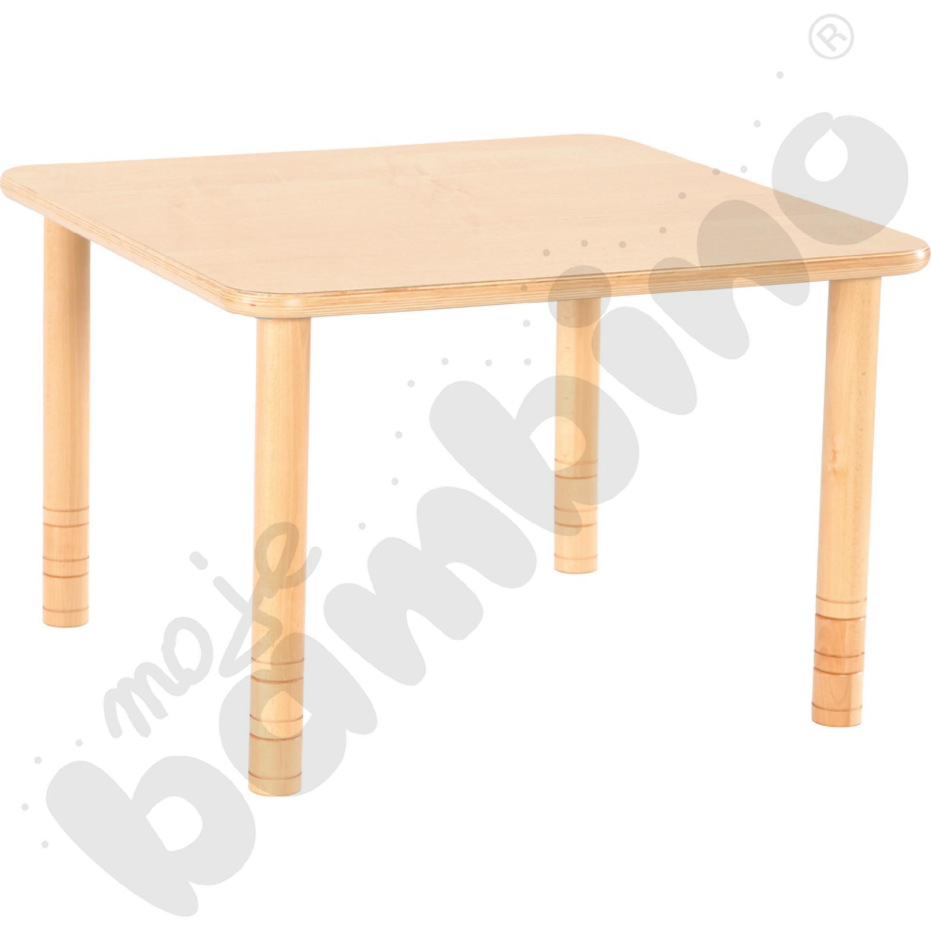 Stół Flexi kwadratowy - bukowy