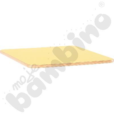 Blat Flexi kwadratowy - żółty