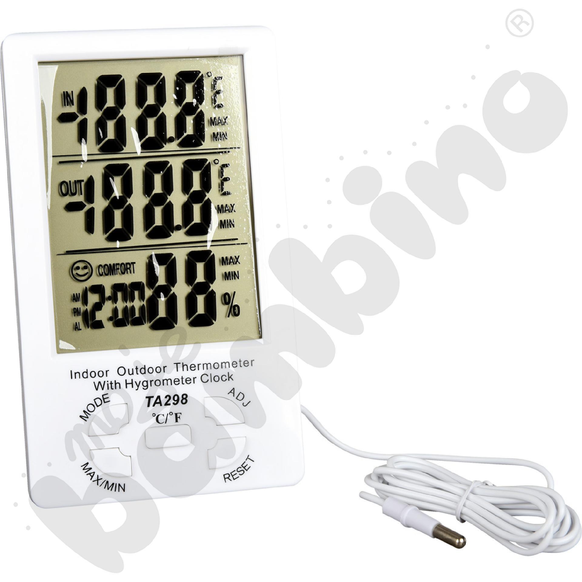 Higrometr i termometr 2w1
