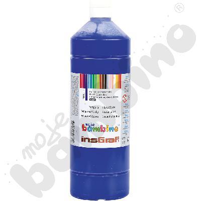Tempery pojedyncze kolory granatowy