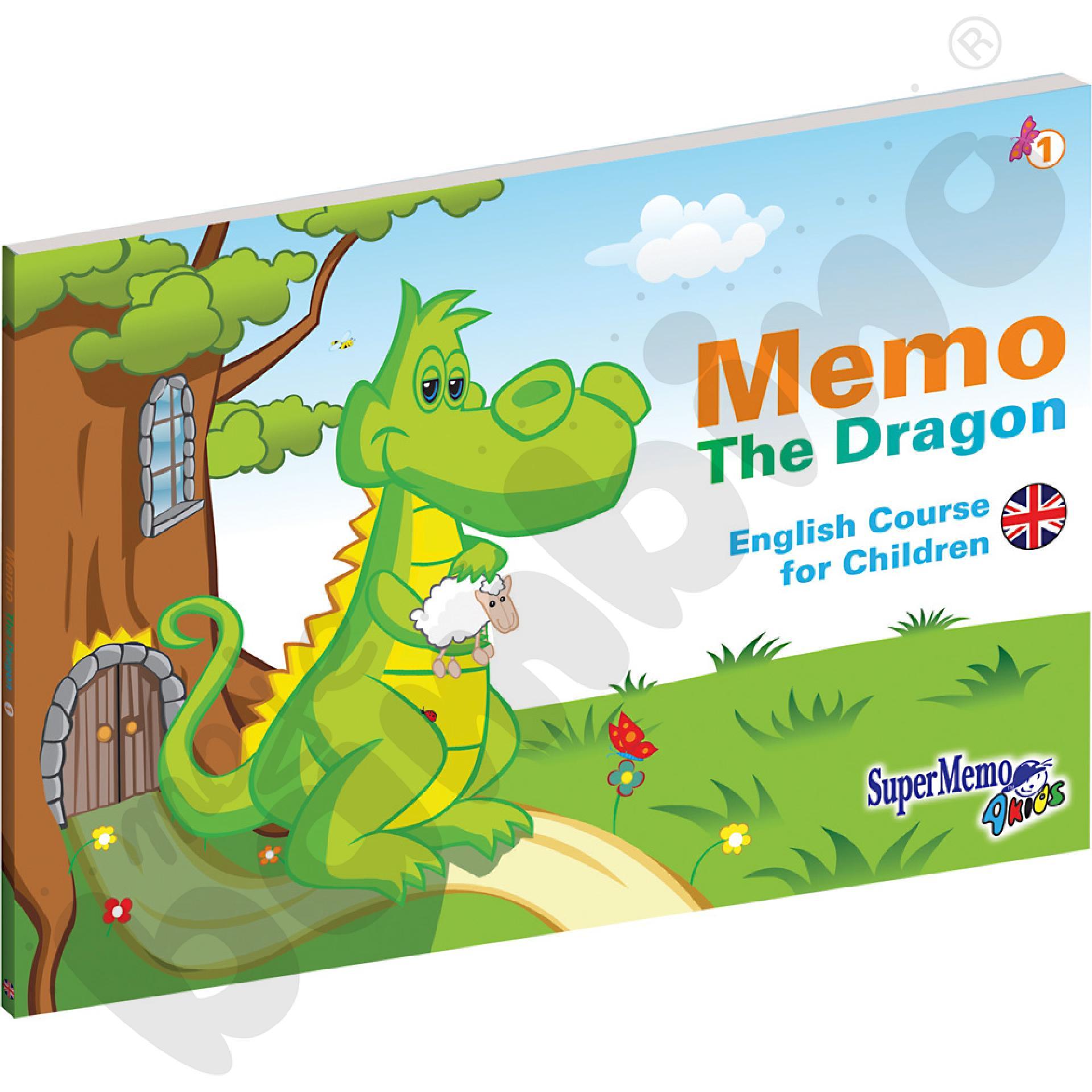 Kurs j. angielskiego dla przedszkolaka Memo The Dragon- pakiet dla ucznia cz. 2