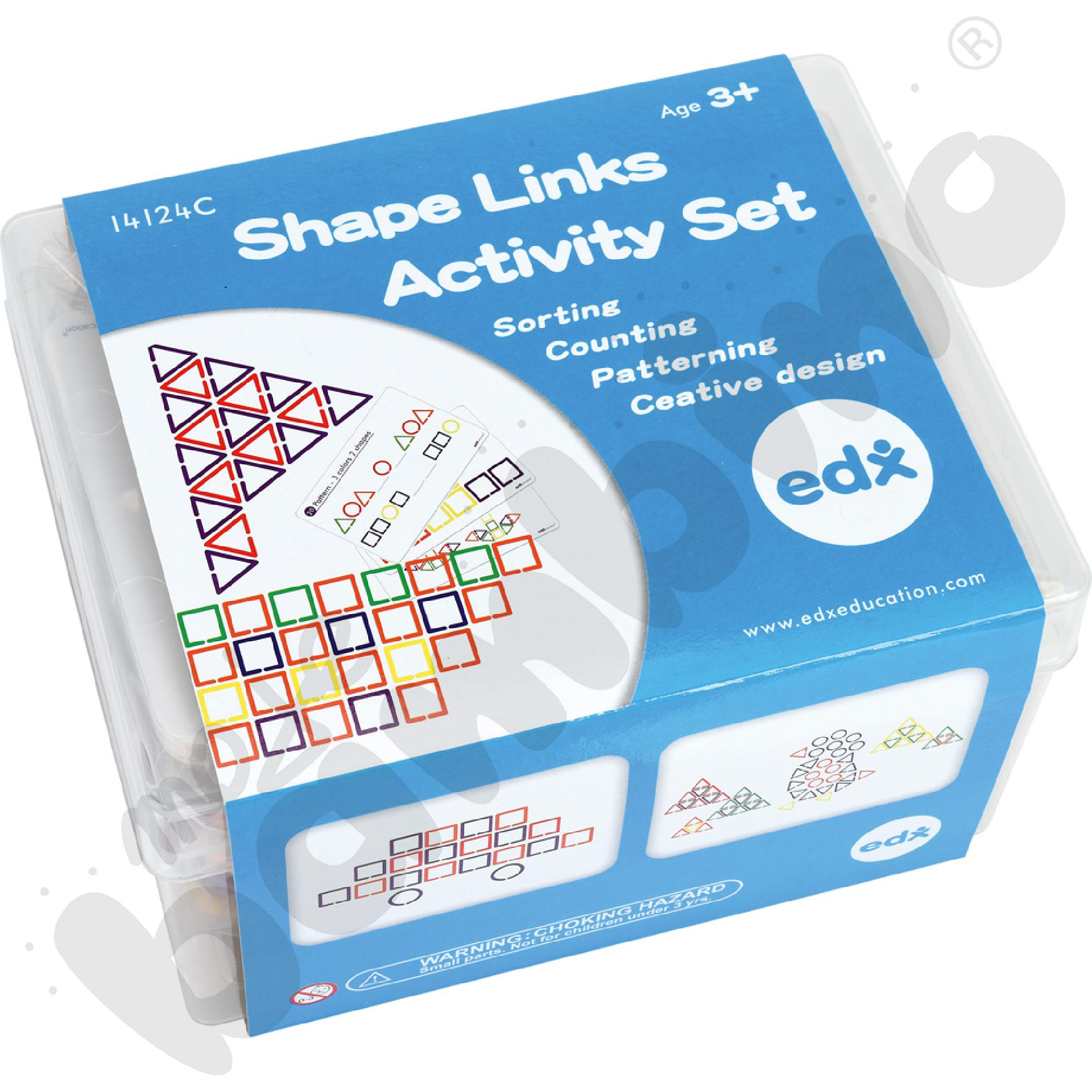 Figury geometryczne z kartami zadań