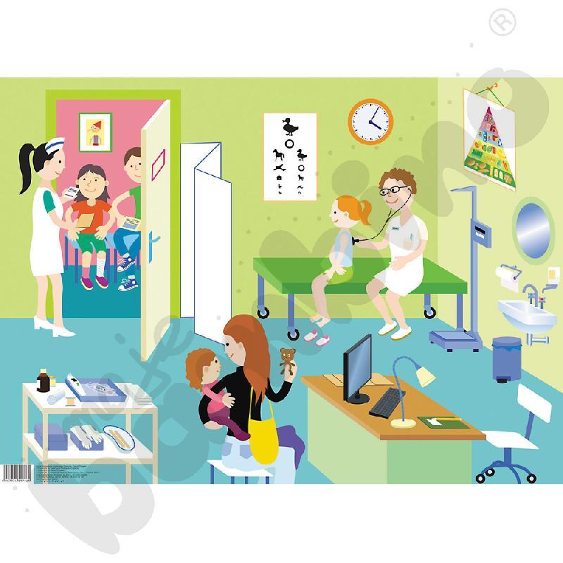 Tablica tematyczna U lekarza