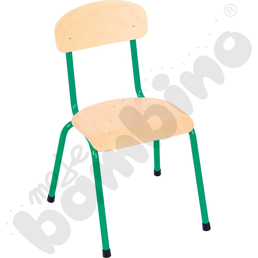 Krzesło Bambino rozm. 2 zielone