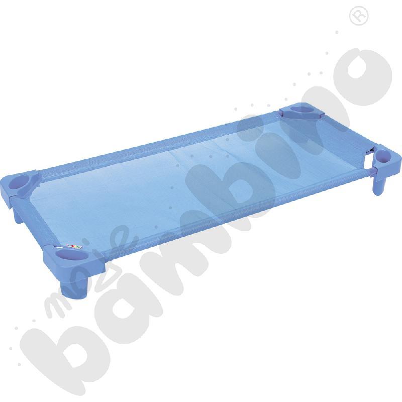 Łóżeczko jasnoniebieskie