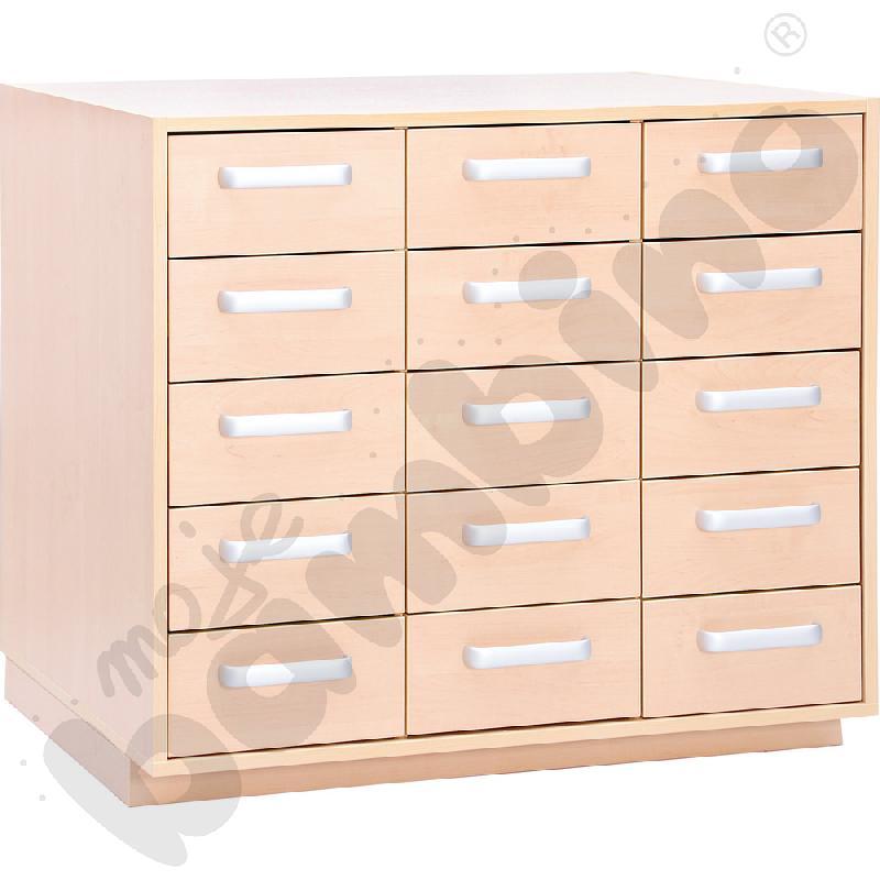 Przewijak z szufladami do zestawu