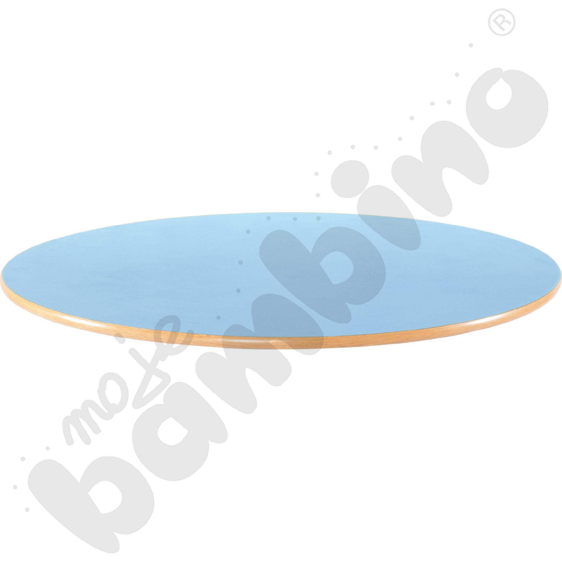 Blat Flexi okrągły- niebieski