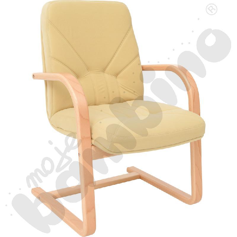 Krzesło na płozach MANAGER