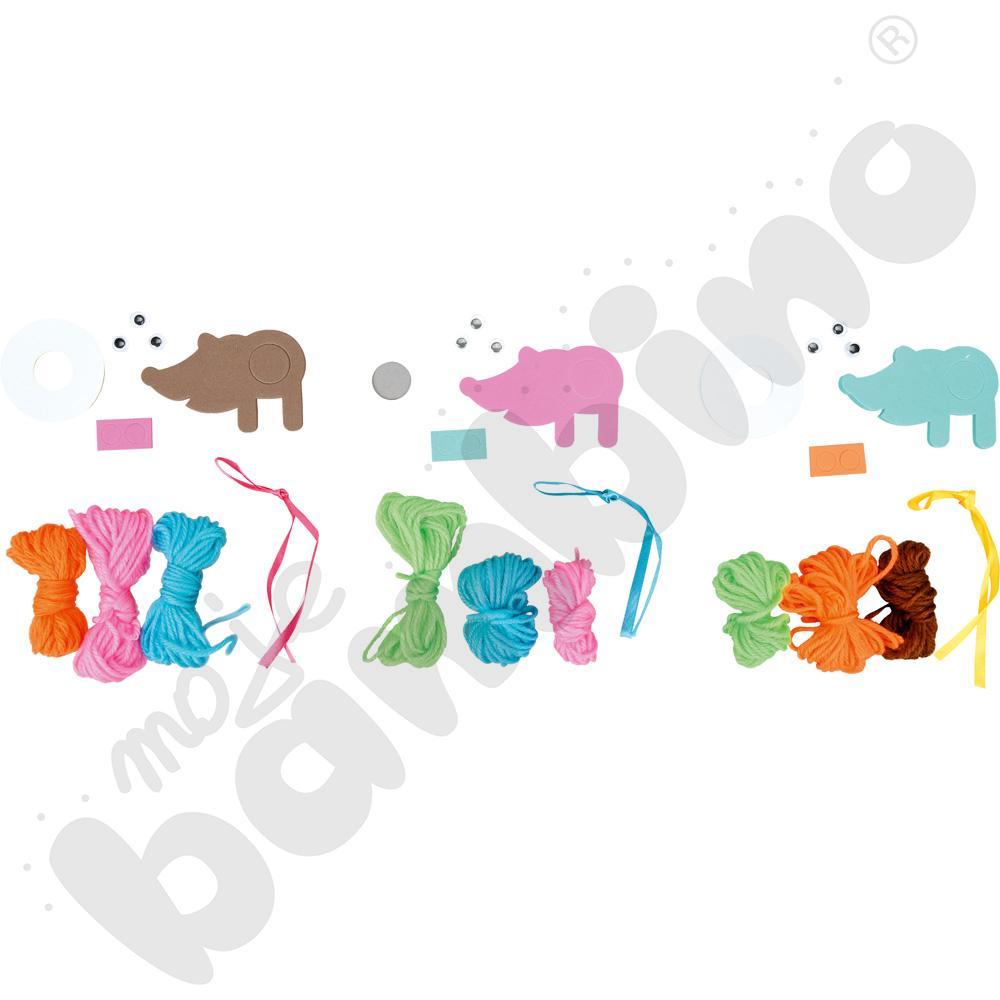 Pompony - jeżyki