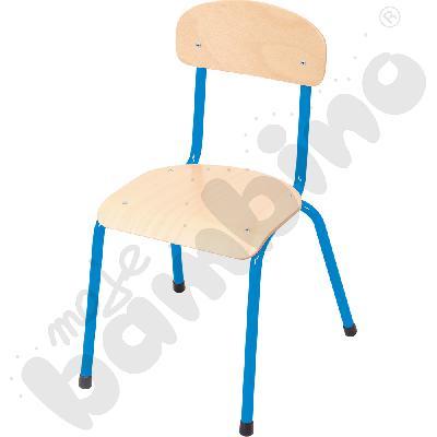 Krzesło Bambino rozm. 4 niebieskie