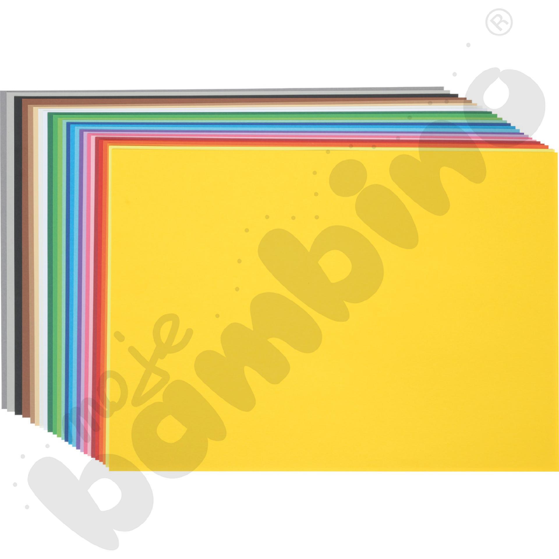 Karton gładki 25 arkuszy o...aaa