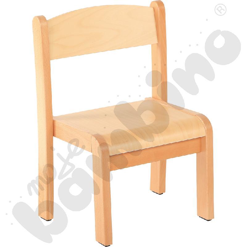 Krzesło Filipek bukowe ze stopką filcową rozm. 1