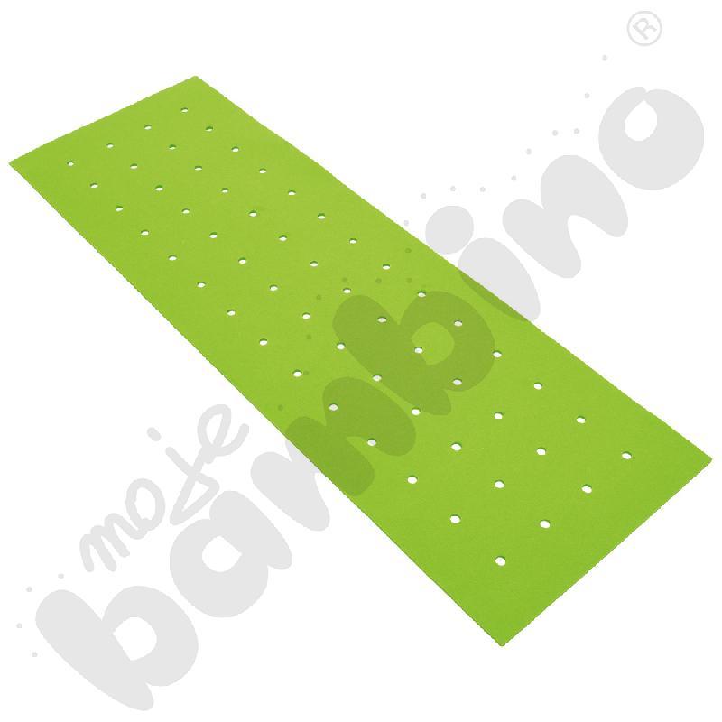Panel wyciszający pionowy z otworami - zielony