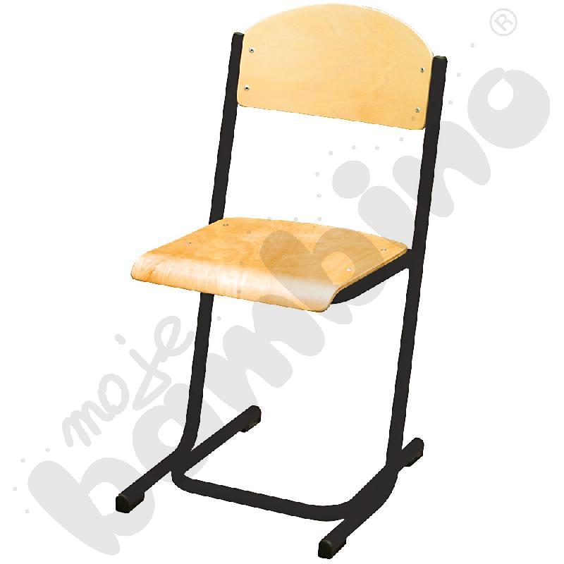 Krzesło MAX rozm. 4 czarne