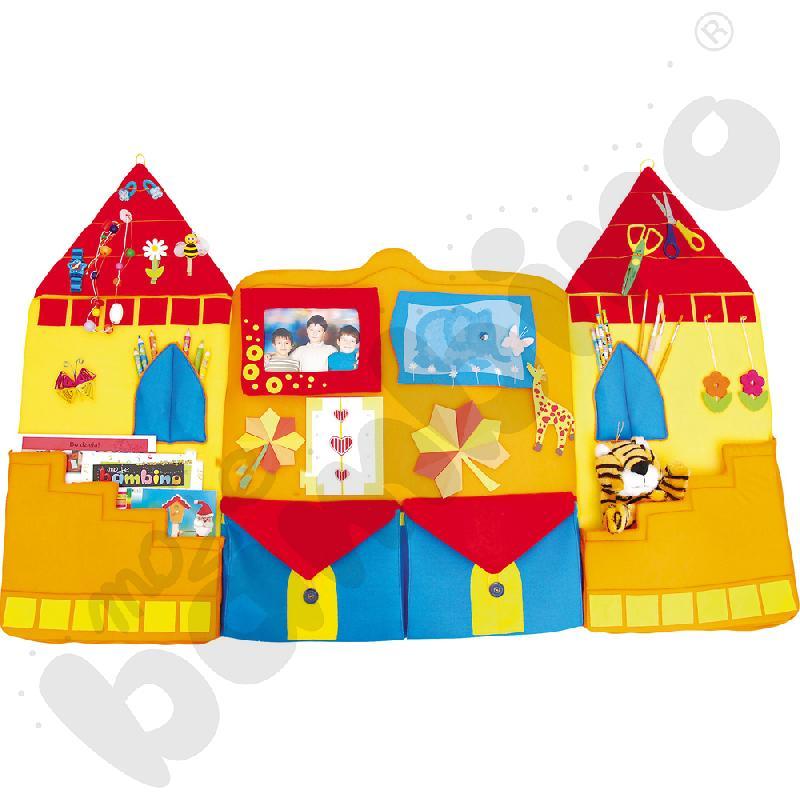 Makatka z kieszeniami Zamek