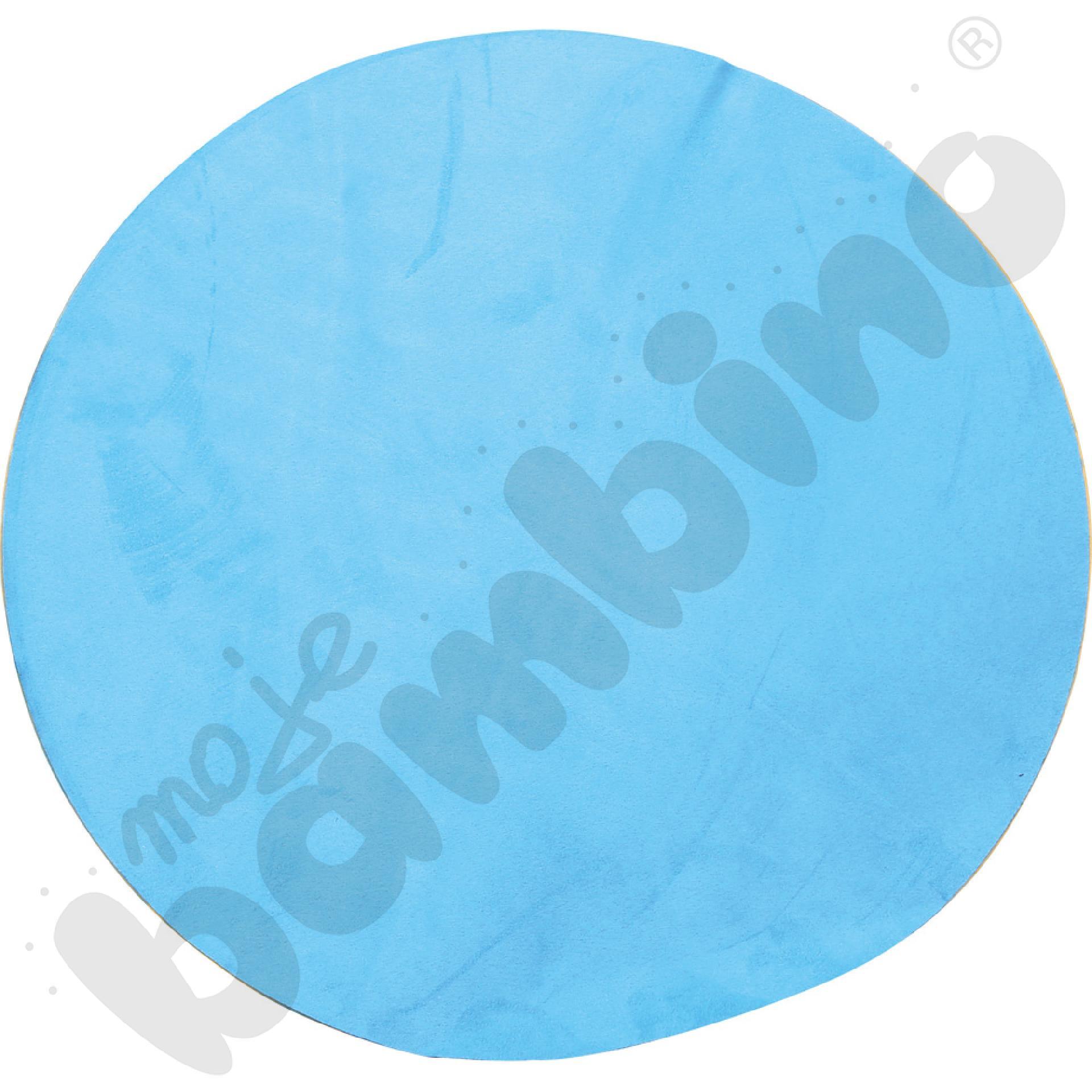 Magnetyczna tapeta koło - błękitna