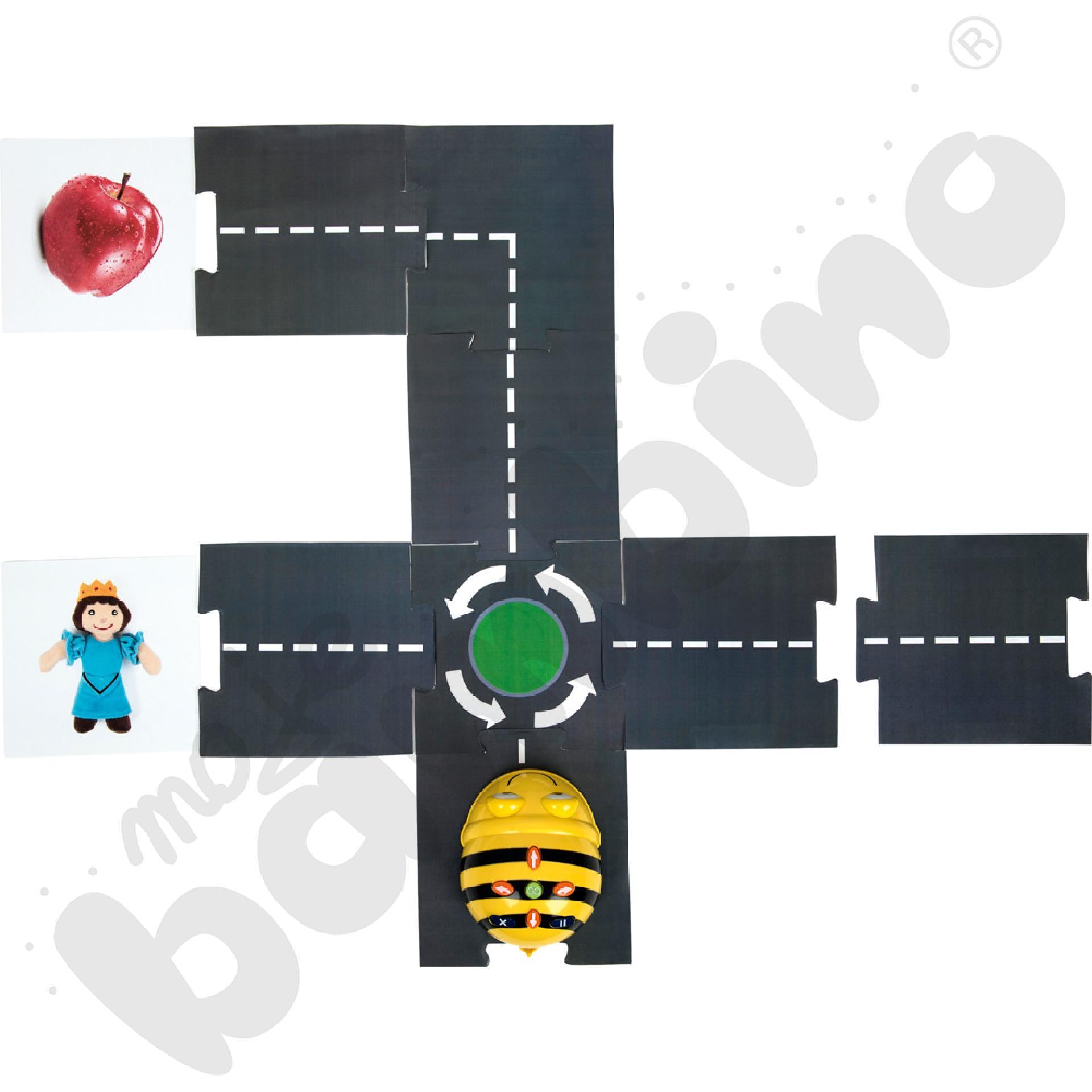 Trasa modułowa dla Bee-Bota...
