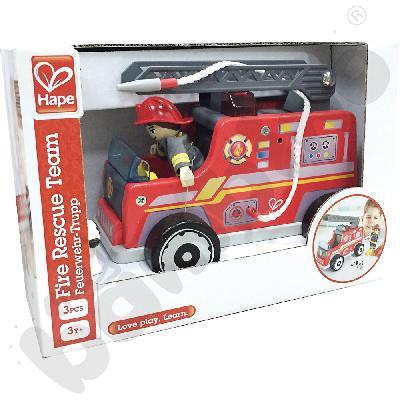 Wóz strażacki z figurkami