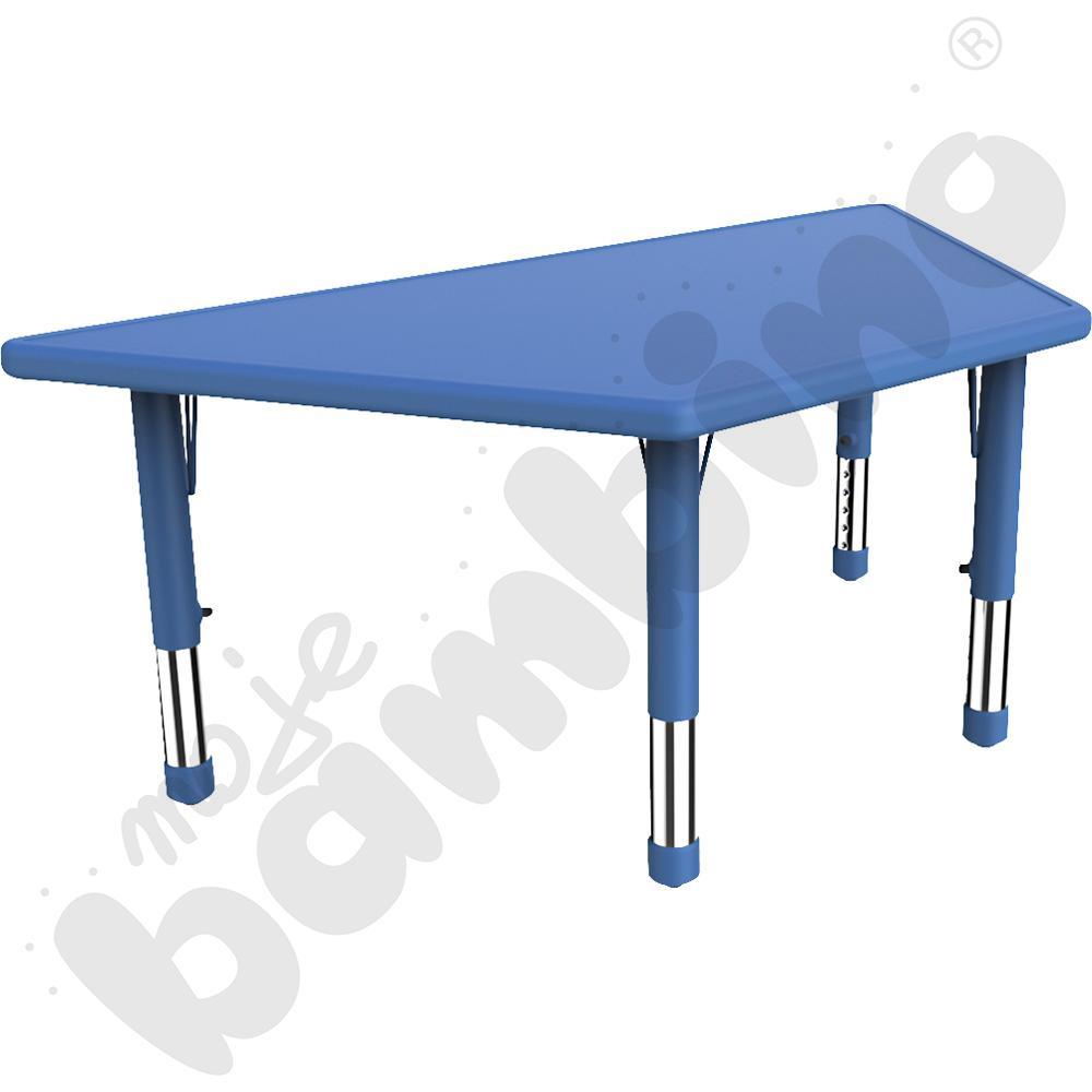 Stół Dumi trapezowy - niebieski