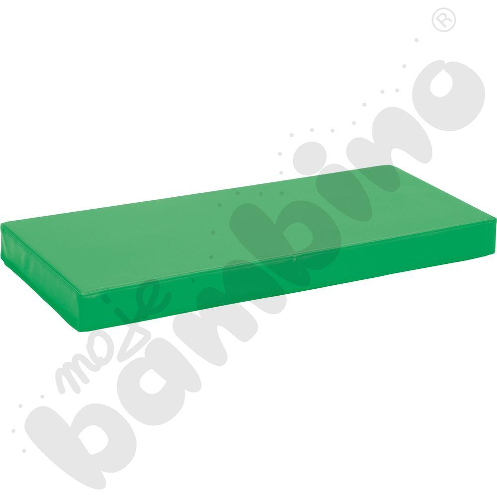 Materac antypoślizgowy wym. 90 x 40 x 8 cm zielony