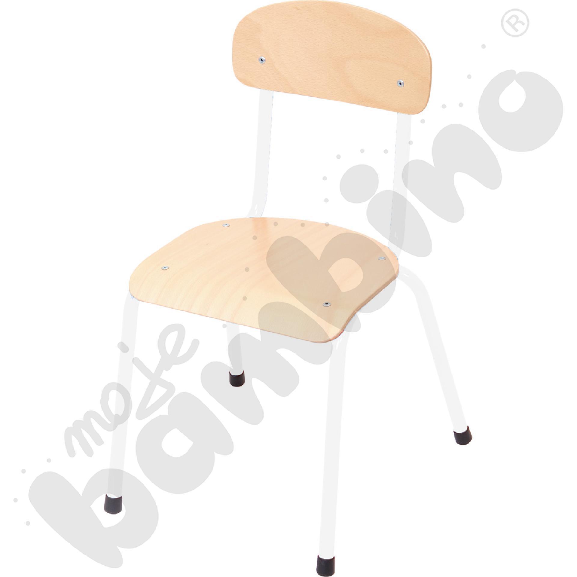 Krzesło Bambino rozm. 4 białe