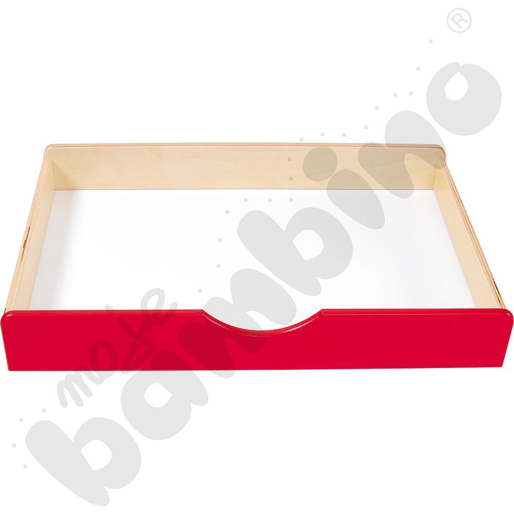 Szuflada drewniana BIS - czerwona