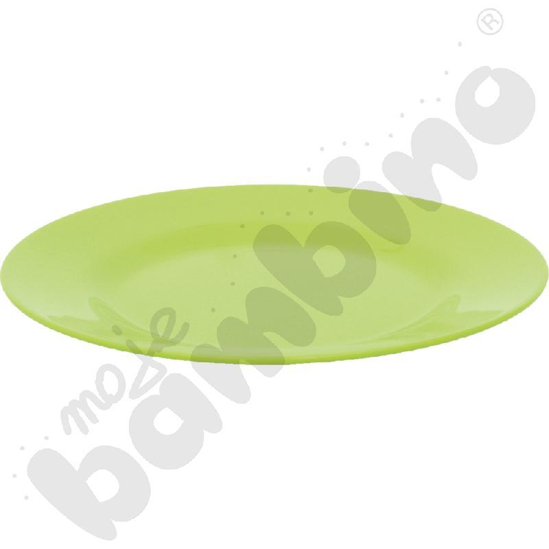 Płytki talerz 19 cm - zielony