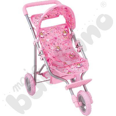 Wózek dla lalek - trójkołowy