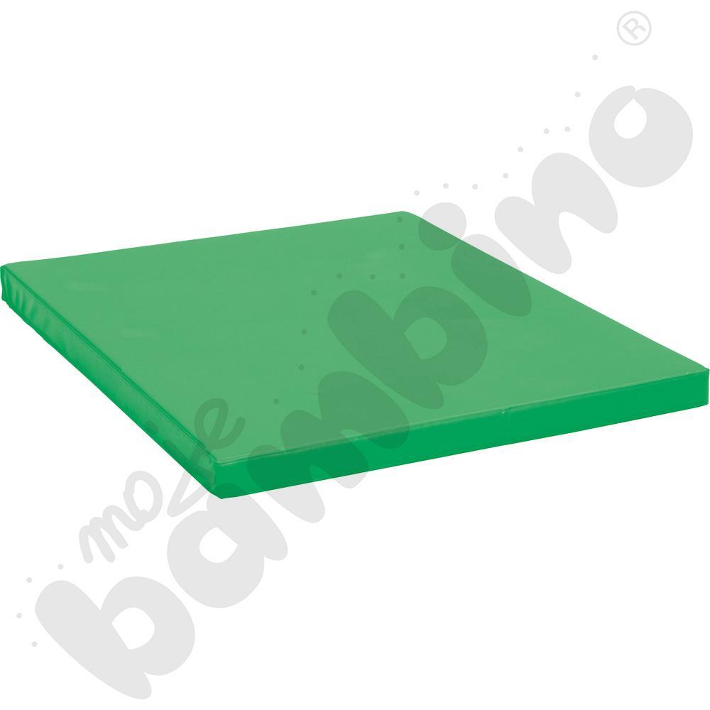 Materac antypoślizgowy wym. 159 x 159 x 8 cm zielony
