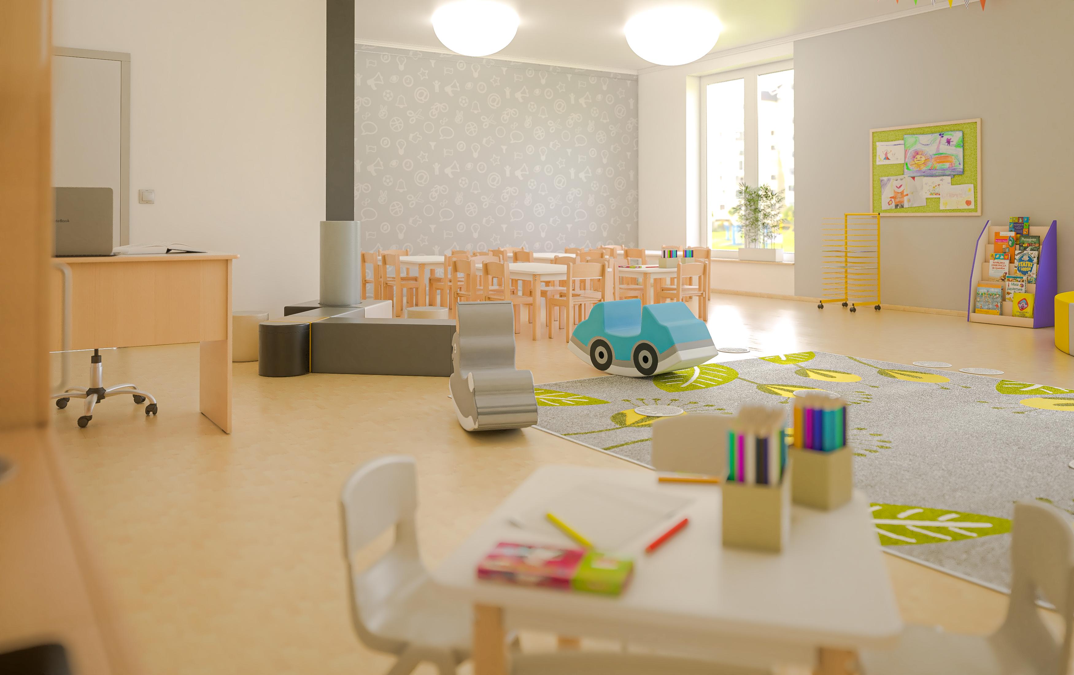 Sala przedszkolna Quadro