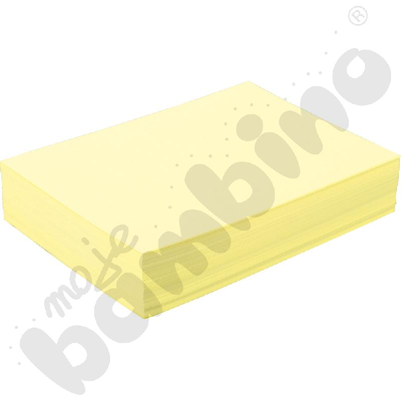 Papiery ksero A4 cytrynowy