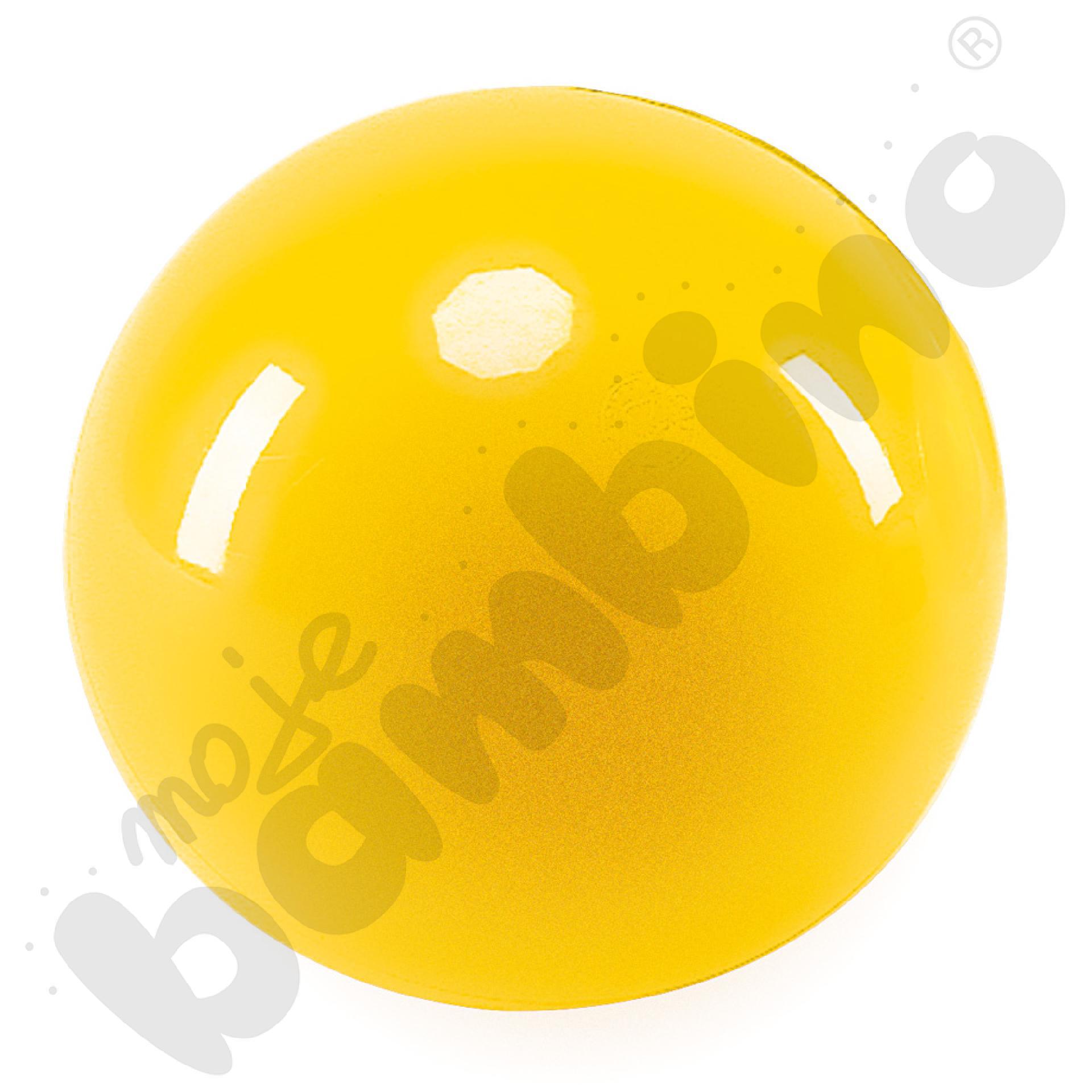 Piłka do rytmiki - żółta