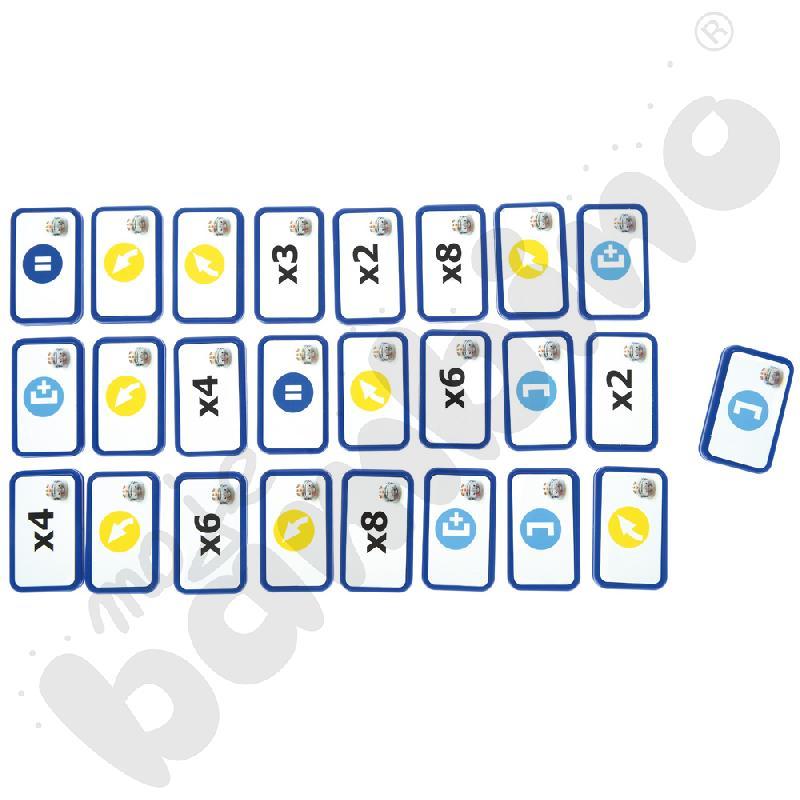 Zestaw dodatkowych kafelków TacTile do Blue-Bota