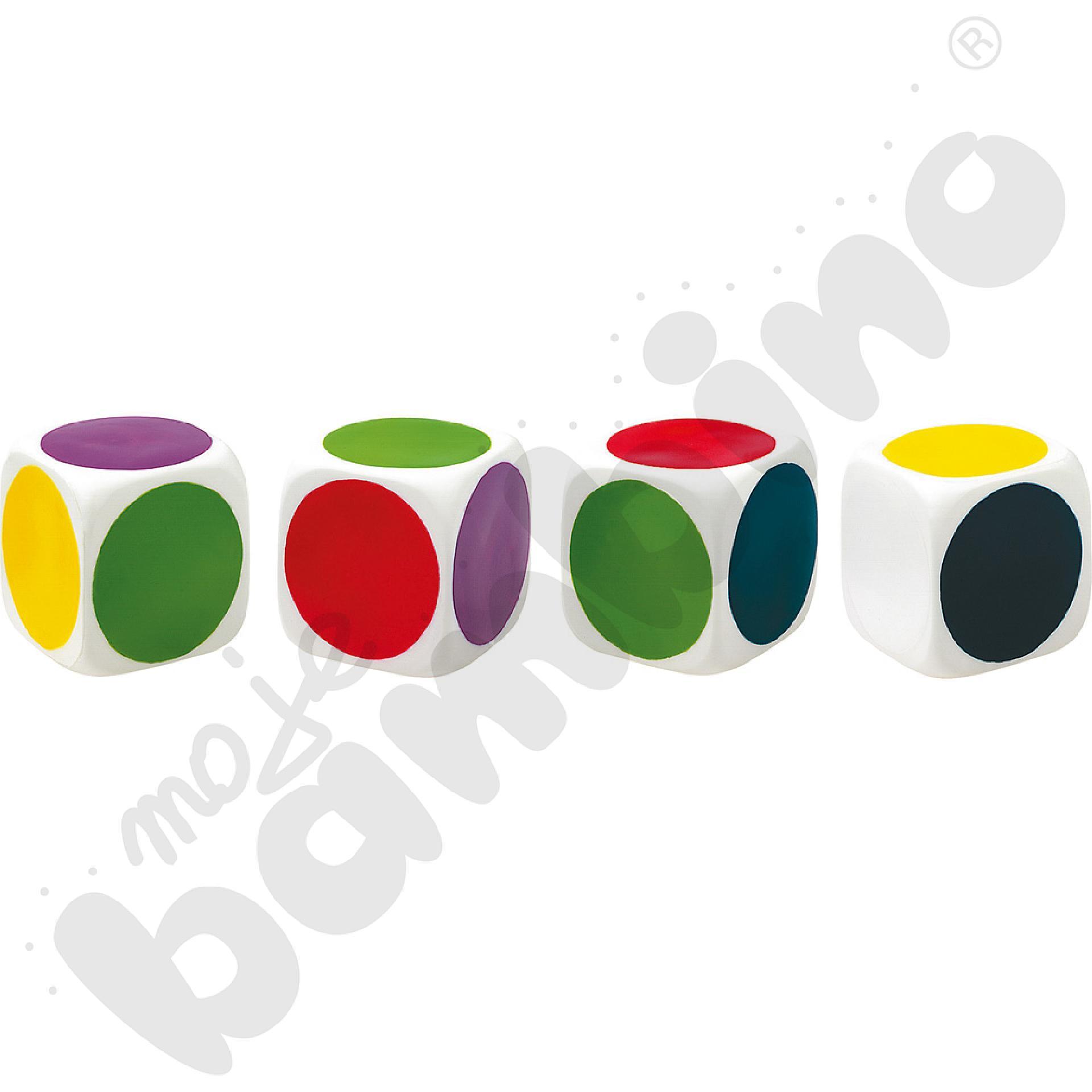 Duża kostka z kolorami