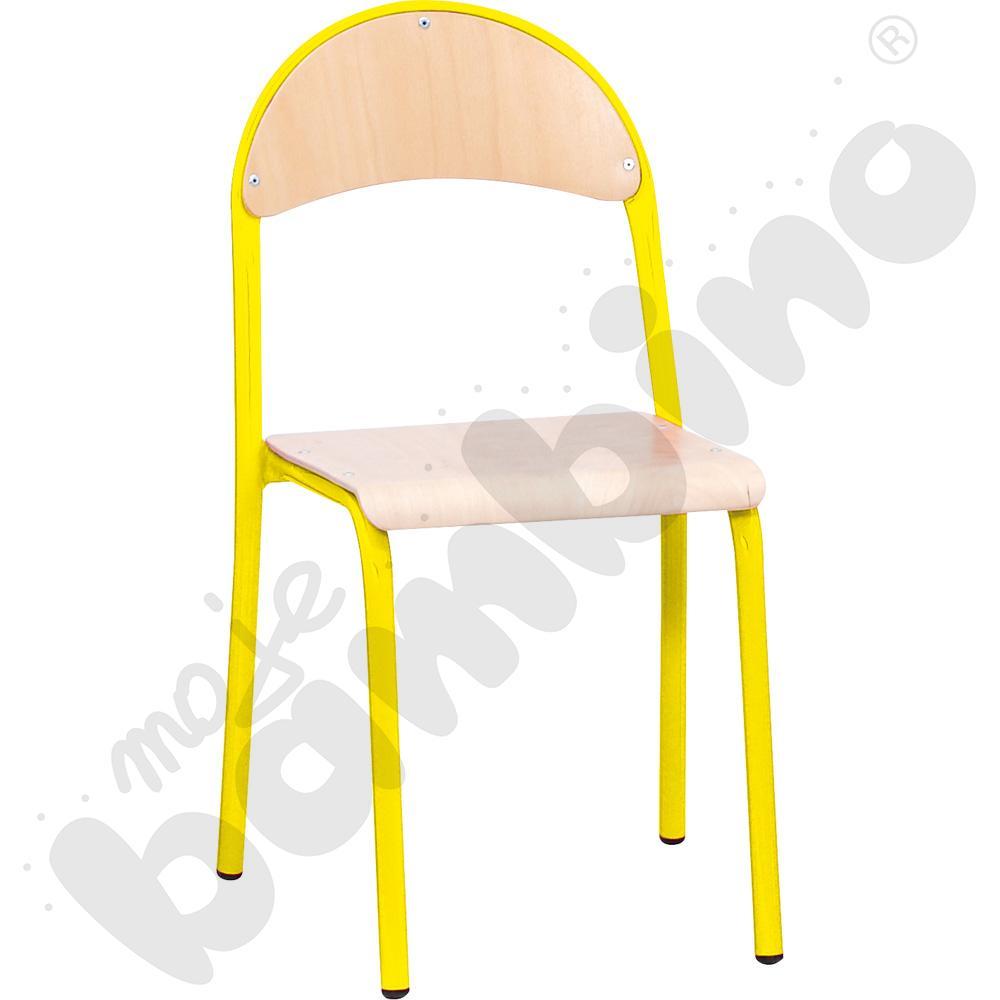 Krzesło P rozm. 4 żółte