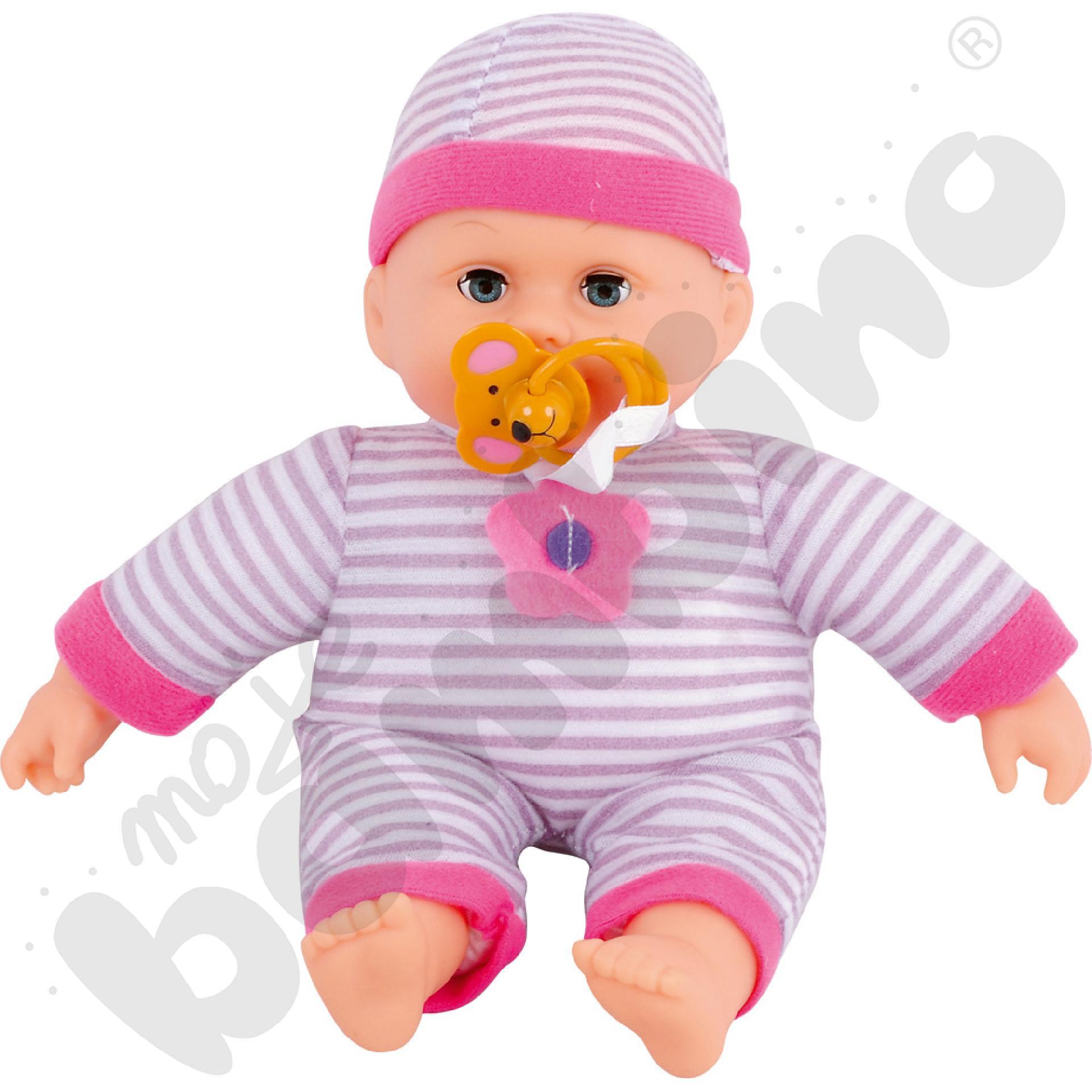 Słodka lalka ze smoczkiem