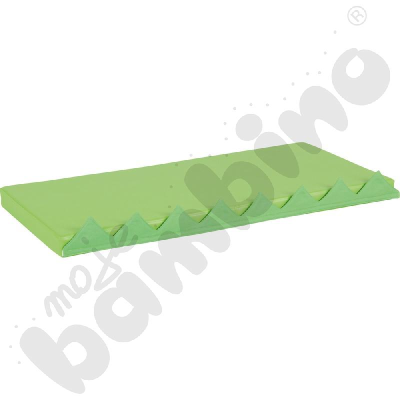 Materac prostokątny z motywem trawy - zielony