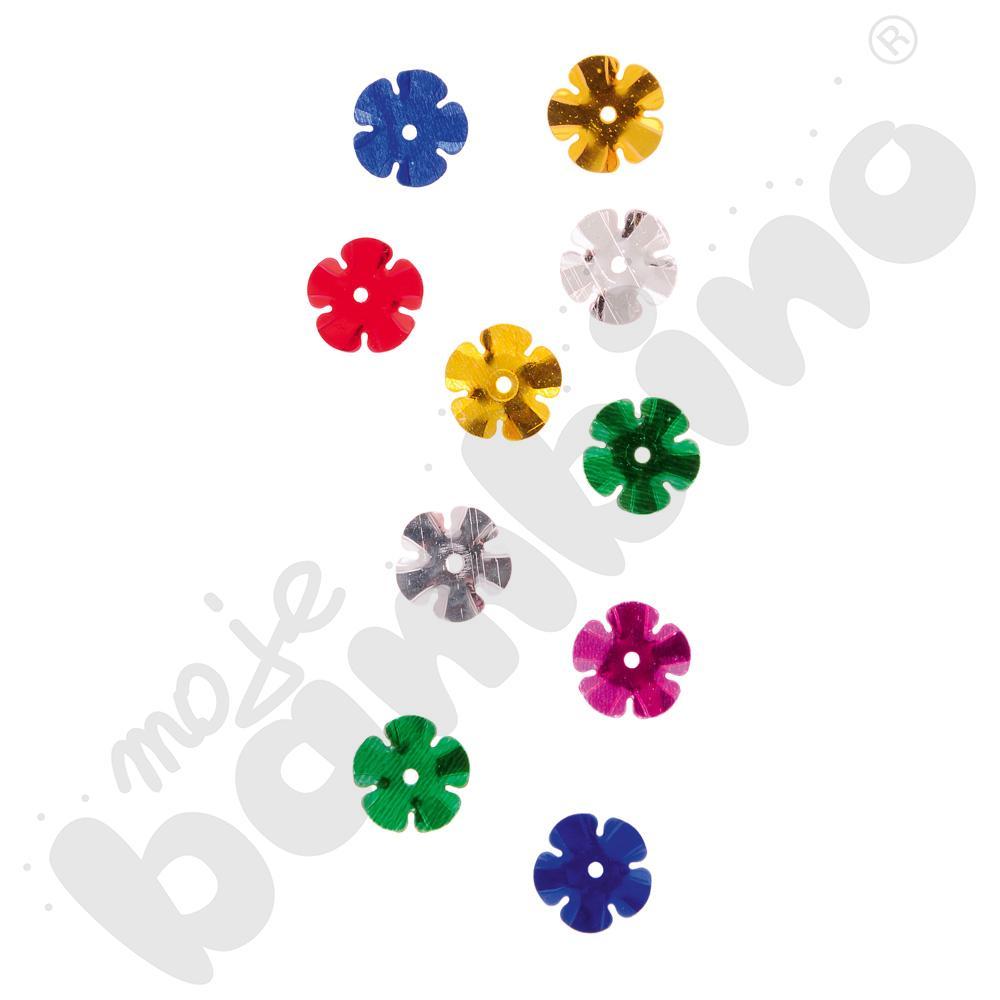 Konfetti kolorowe kwiatki