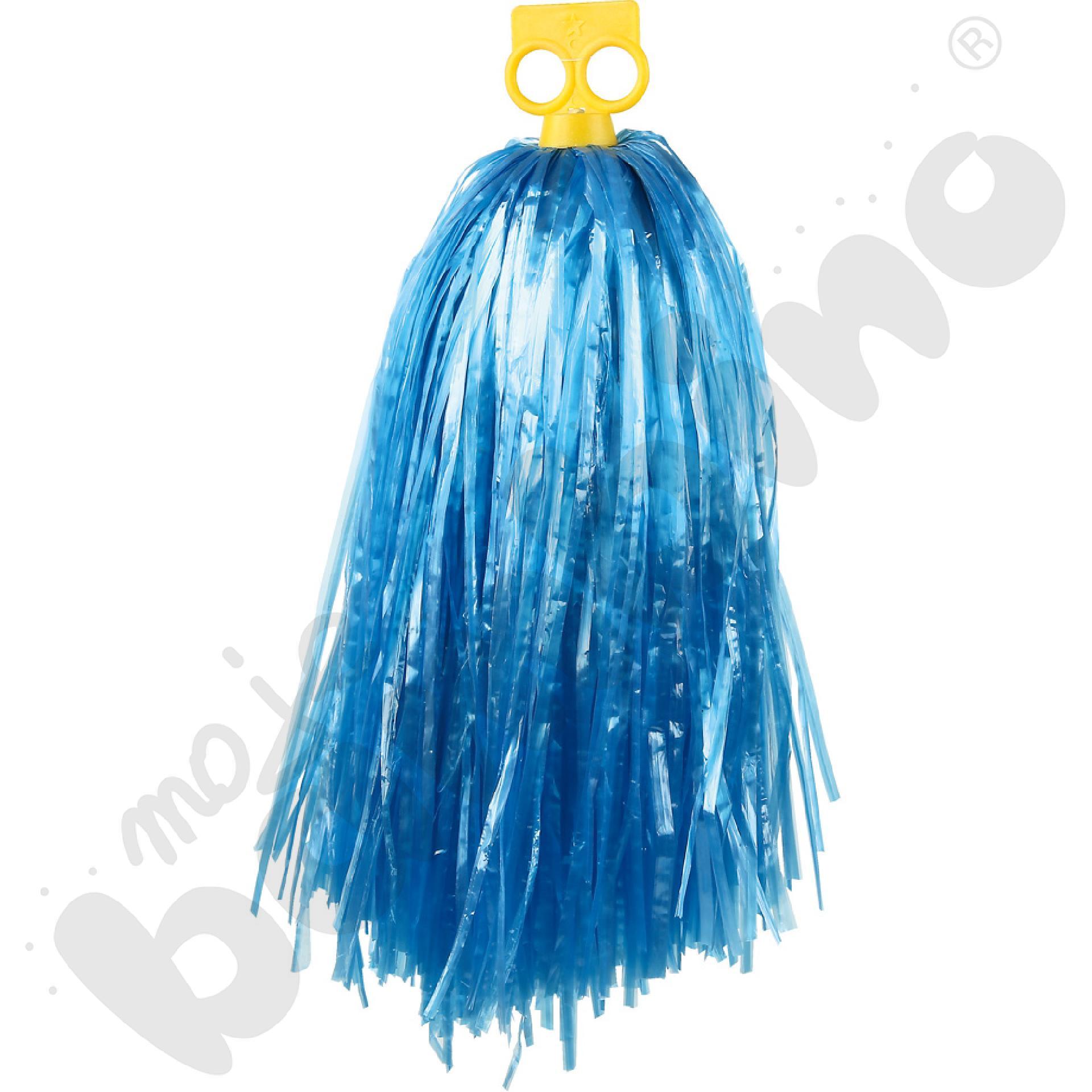 Pompon mały - niebieski
