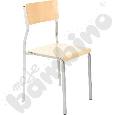 Krzesło B rozm. 6 srebrne