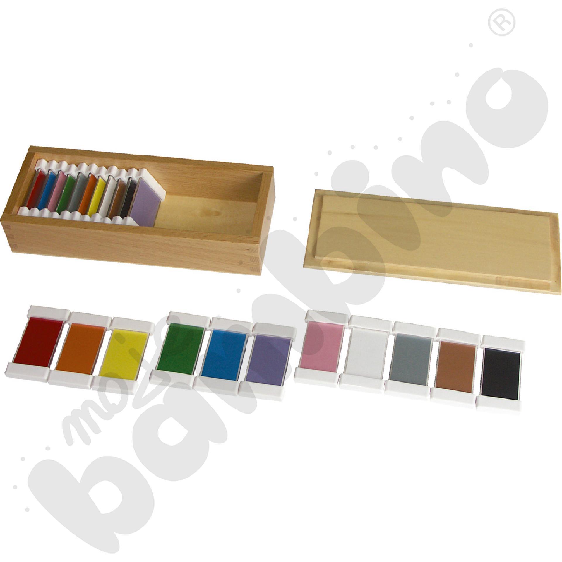 Tabliczki barwne