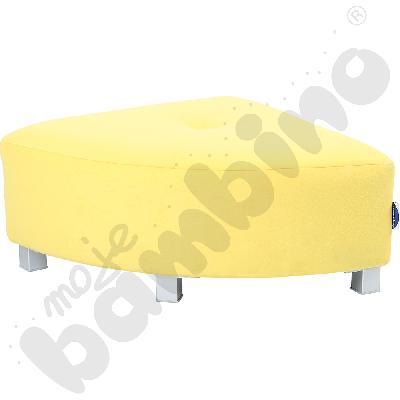 Pufa narożna - żółta wys....