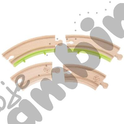 Drewniane tory - uzupełnienie 21, podwójne tory