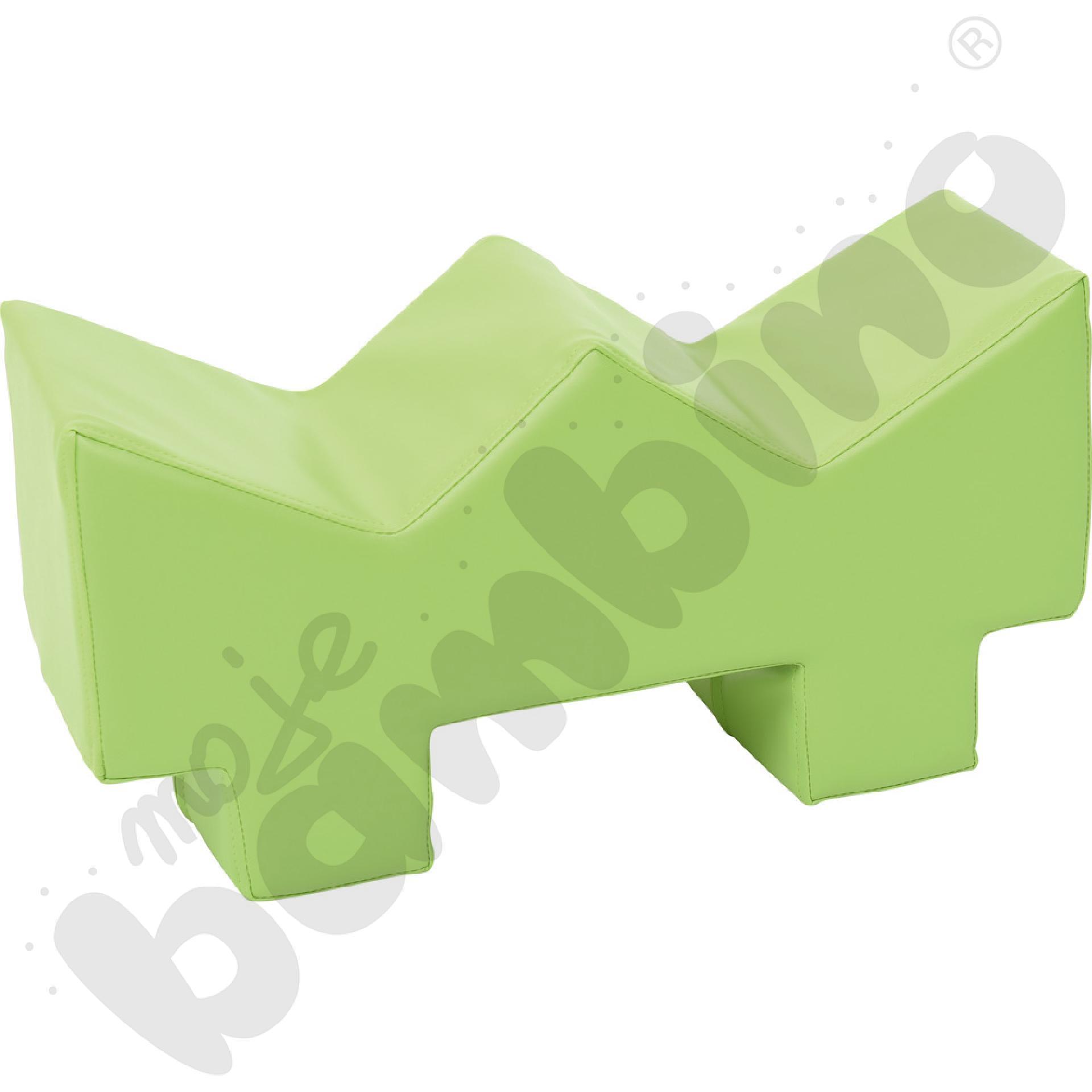 Piankowy kącik - trawa jasnozielona