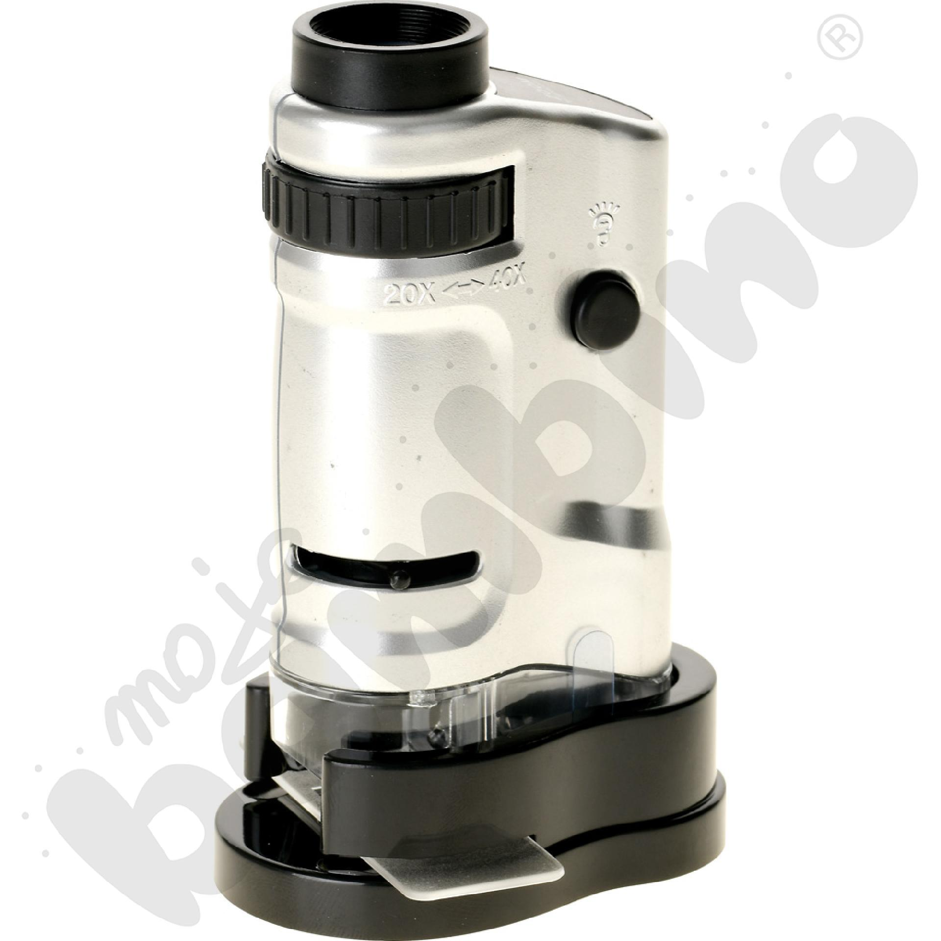 Mikroskop ręczny z...