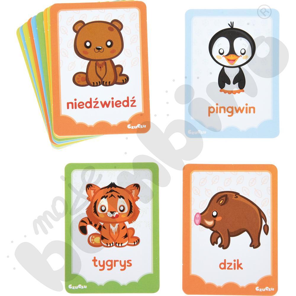 Karty obrazkowe - zwierzęta