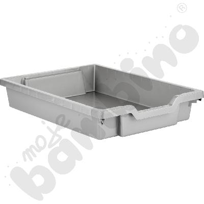 Pojemnik płytki 1 srebrny