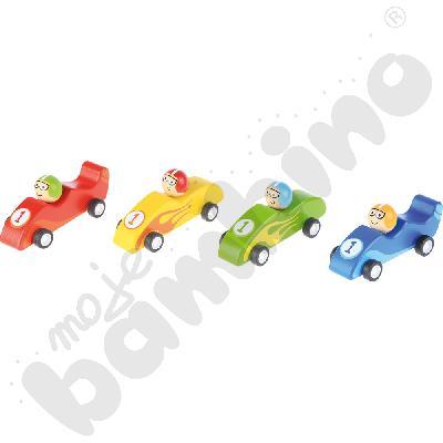 Małe jeżdżące wyścigówki